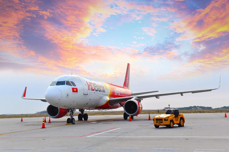 Chào 5 đường bay mới từ Cần Thơ, Vietjet tung 1,1 triệu vé giá từ 0 đồng