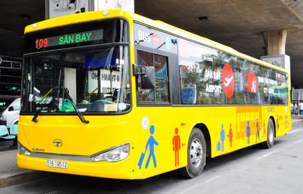 Di chuyển từ sân bay Tân Sơn Nhất về trung tâm Sài Gòn - hinh 1