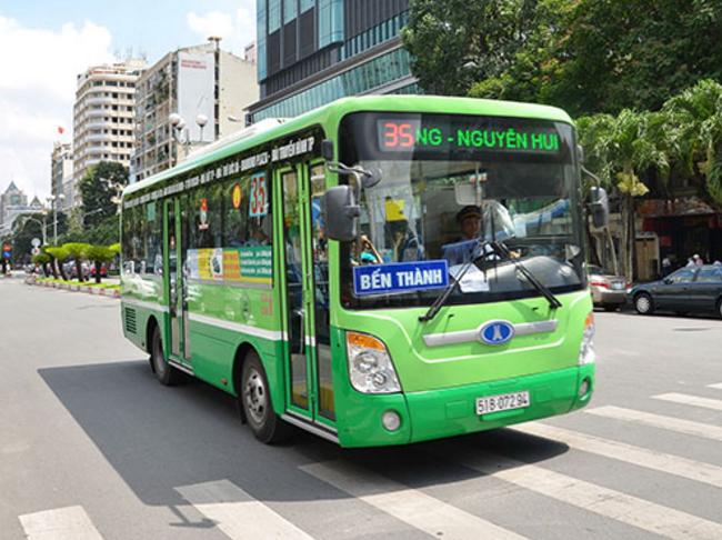 tuyến xe buýt xanh TP. Hồ Chí Minh