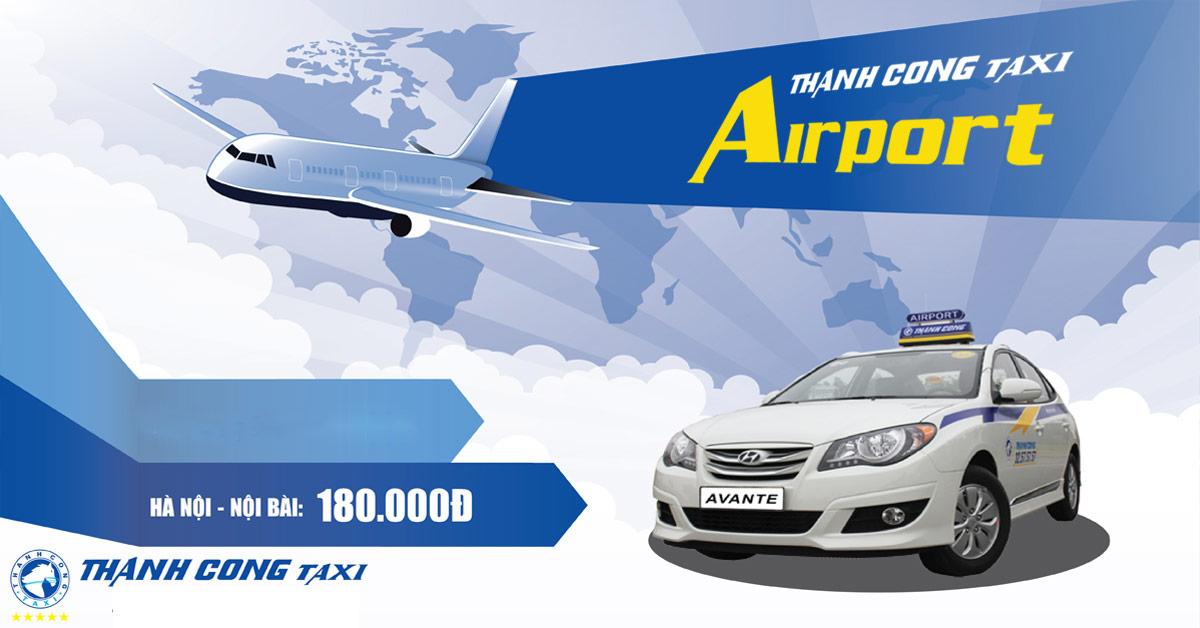 Taxi Thành Côngsân bay Nội Bài
