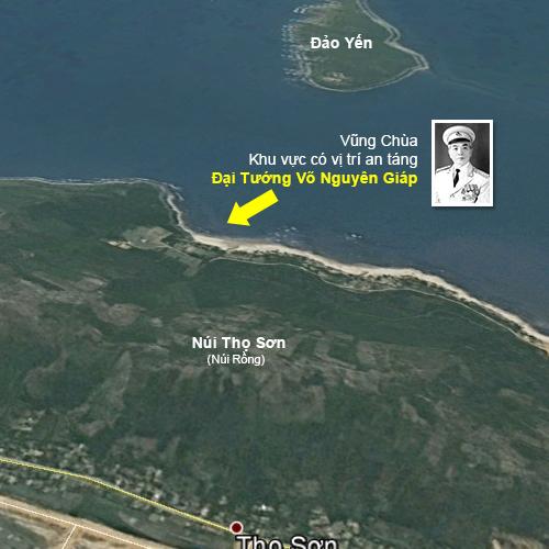 Vũng Chùa - Đảo Yến nơi an nghỉ của Đại Tướng