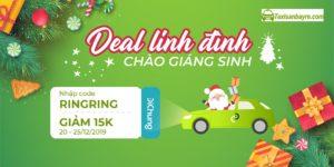 Taxi Sân Bay Chào Giáng Sinh – Deal Lung Linh