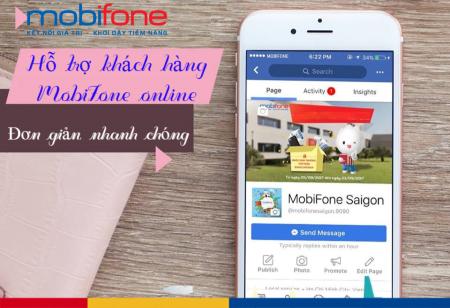 Tổng đài chăm sóc khách hàng trực tuyến MobiFone