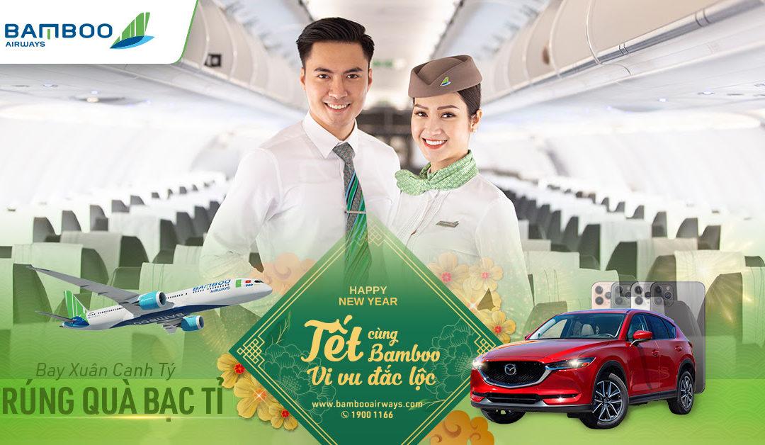 Mua vé Bamboo Airways có cơ hội trúng xe hơi Mazda CX5