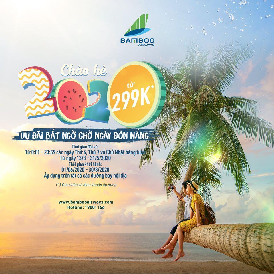 mùa hè 2020 rực rỡ chỉ có ở Bamboo Airways