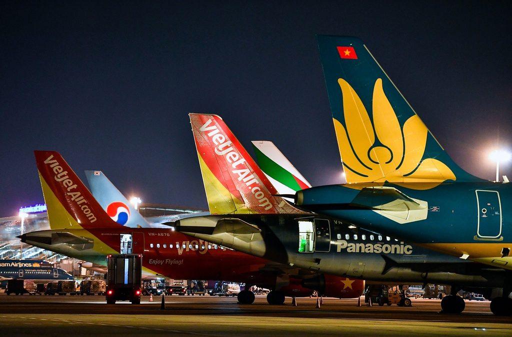 Hàng không Việt Nam dừng toàn bộ đường bay quốc tế