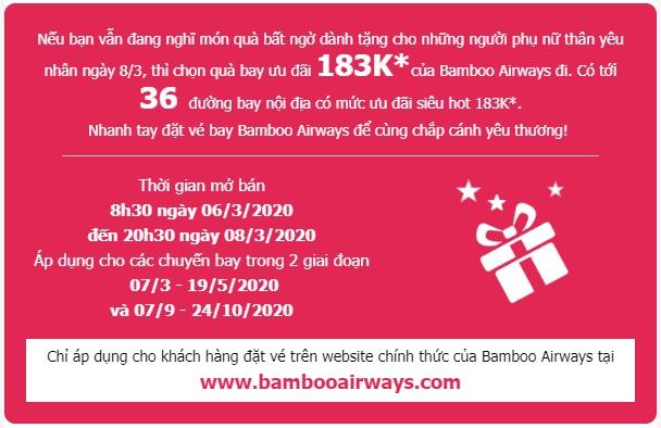 Vé Bamboo bay siêu hot 183k - hinh 2