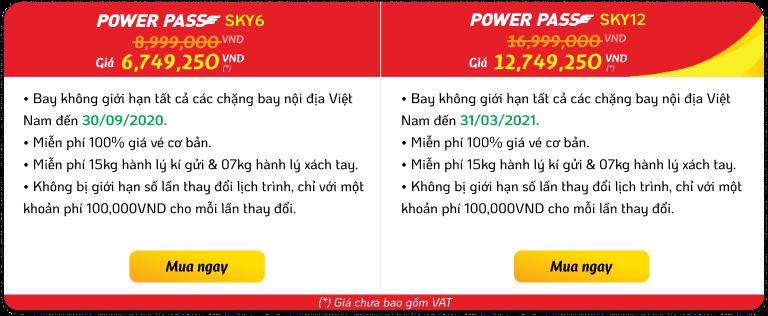 POWER PASS - Một lần mua, trăm lần bay - hinh 1
