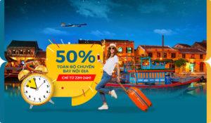 Mid-night Sales 50% TOÀN BỘ nội địa