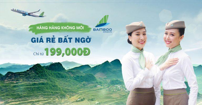 Bỏ túi mẹo săn vé máy bay Bamboo giá rẻ
