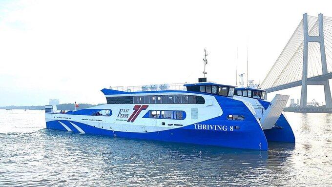 Khai trương phà biển Cần Giờ – Vũng Tàu chạy trước Tết Dương lịch