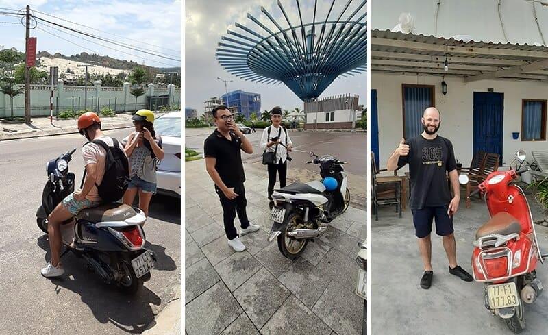 chỗ cho Thuê Xe Máy Ở Quy Nhơn Bình Định uy tín giá rẻ