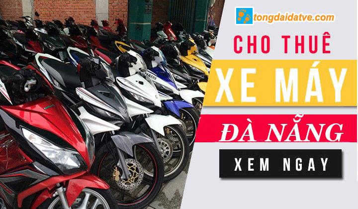 Thuê xe máy ở Đà Nẵng giá rẻ